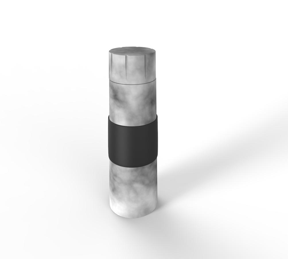 marmorflasche
